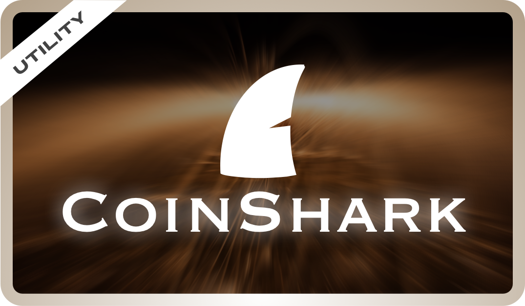 Use CoinShark to keep track of cryptocurrency prices and your portfolio!