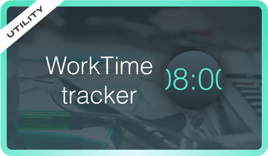 Track your working hours with WorkTime!
